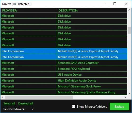 cloning backup restore drivers