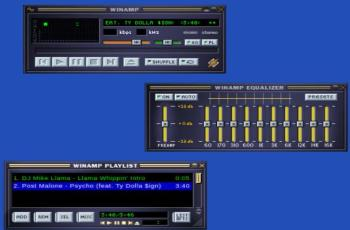 Winamp2-js is a Free Online Winamp Music Player