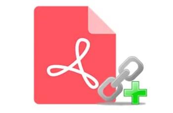 batch pdf link editor
