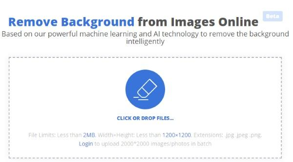 online image background remover