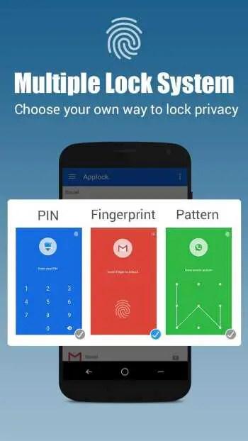 App-lock Fingerprint password