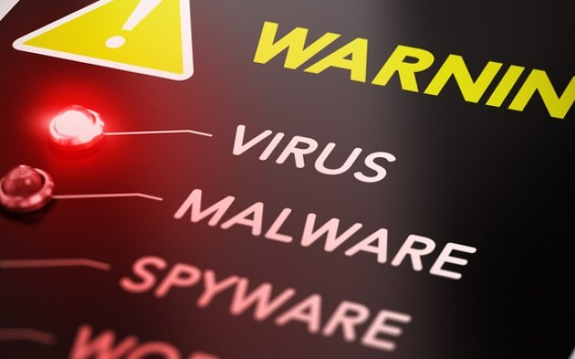 picture of computer virus detection