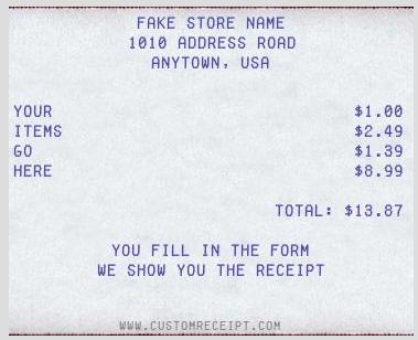 top 4 online fake receipt maker generator tools 2018 techcortex