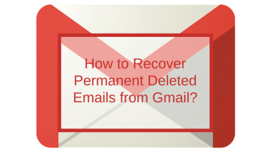 recover deleted emails from gmail