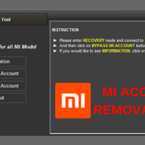 MI Account Removal Tool