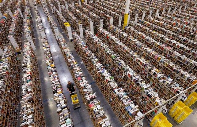 Bernie Sanders' problem with Amazon