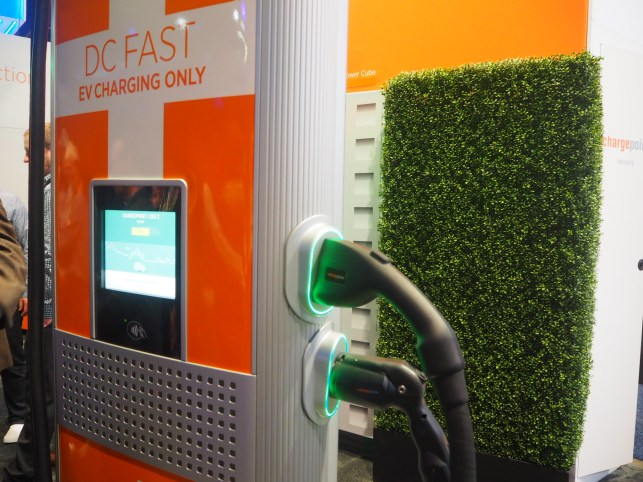 ChargePoint is adding 2.5M electric vehicle chargers over the next 7 years