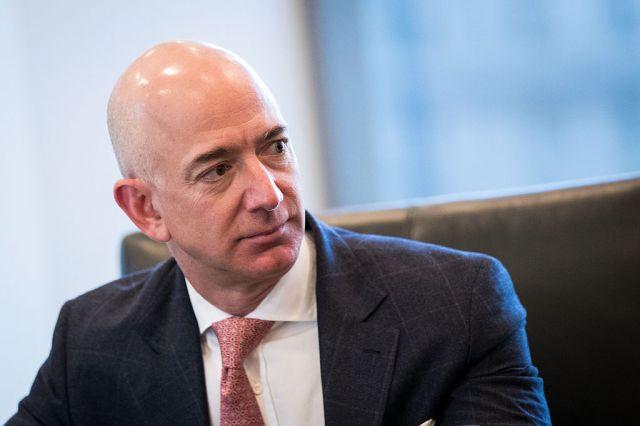 Jeff Bezoz, CEO of Amazon.