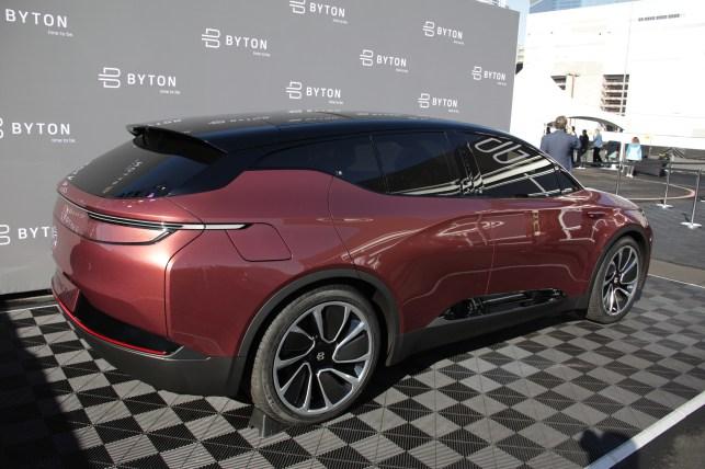 Chinese electric car startup Byton raises $500 million