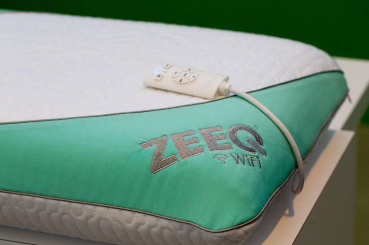 the zeeq smart pillow tracks sleep