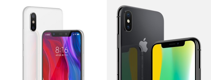 Image result for xiaomi iphone look alike