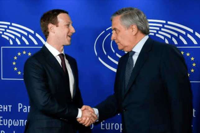 Zuckerberg didn't make any friends in Europe today