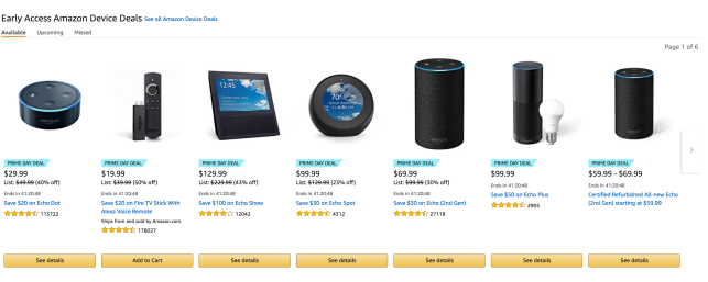 Amazon puts its own devices on sale early for Prime Day