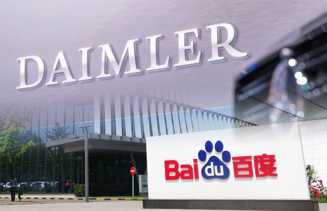 Daimler deepens ties with China's Baidu on automated driving