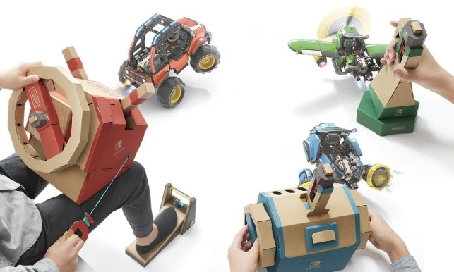 Nintendo's new Labo Vehicle Kit looks like a buggy full of fun
