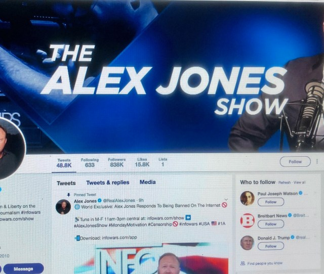 Now Even Youporn Has Banned Alex Jones But Hes Still On Twitter Techcrunch