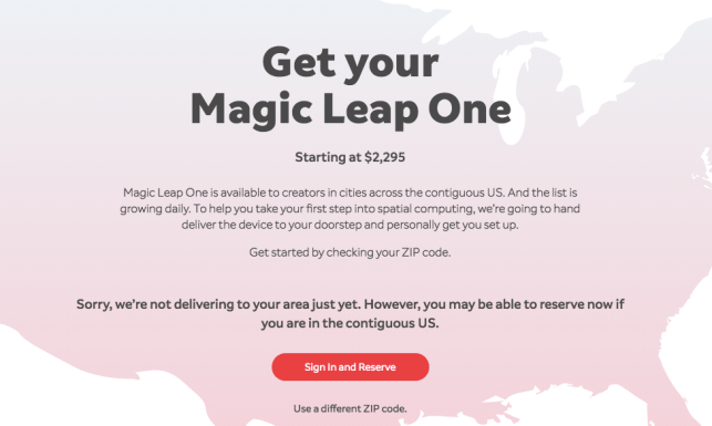 Magic Leap One AR headset for devs costs more than 2x the iPhone X