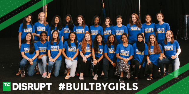 Students and mentors: Apply for the all-new TC Include program at Disrupt SF with #BUILTBYGIRLS