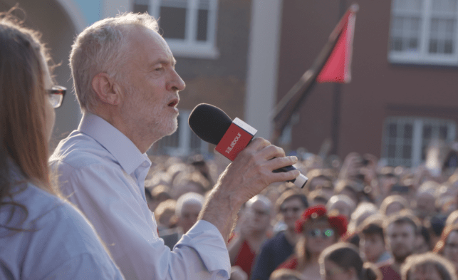 UK Labour Leader Jeremy Corbyn proposes a publicly-funded alternative to Facebook