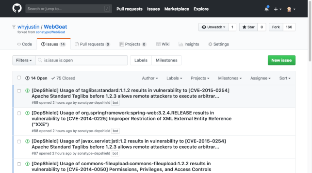 Sonatype offers developers free security scan tool on GitHub