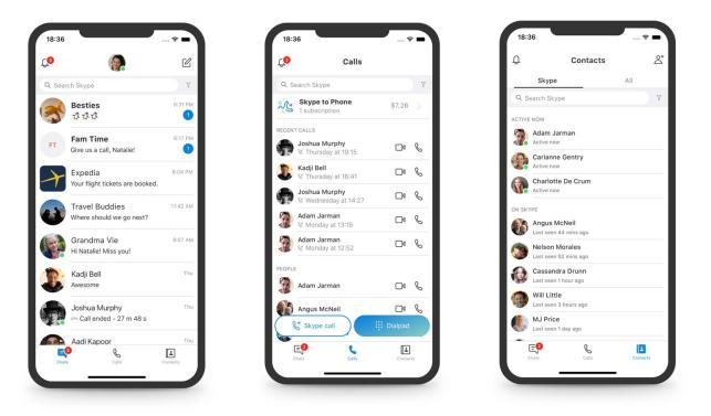Skype rolls back its redesign by ditching stories, squiggles and over-the-top color