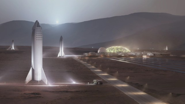 18 new details about Elon Musk's redesigned, moon-bound 'Big F*ing Rocket'