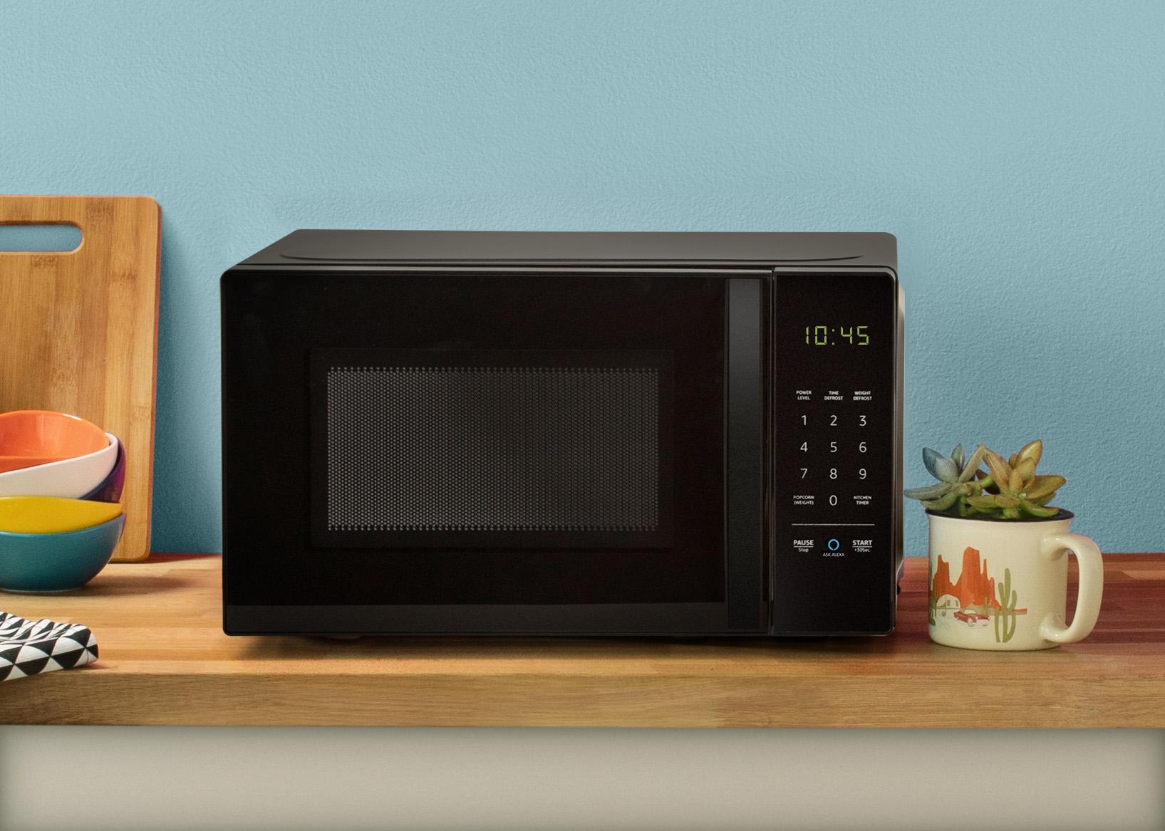 bizarre alexa microwave