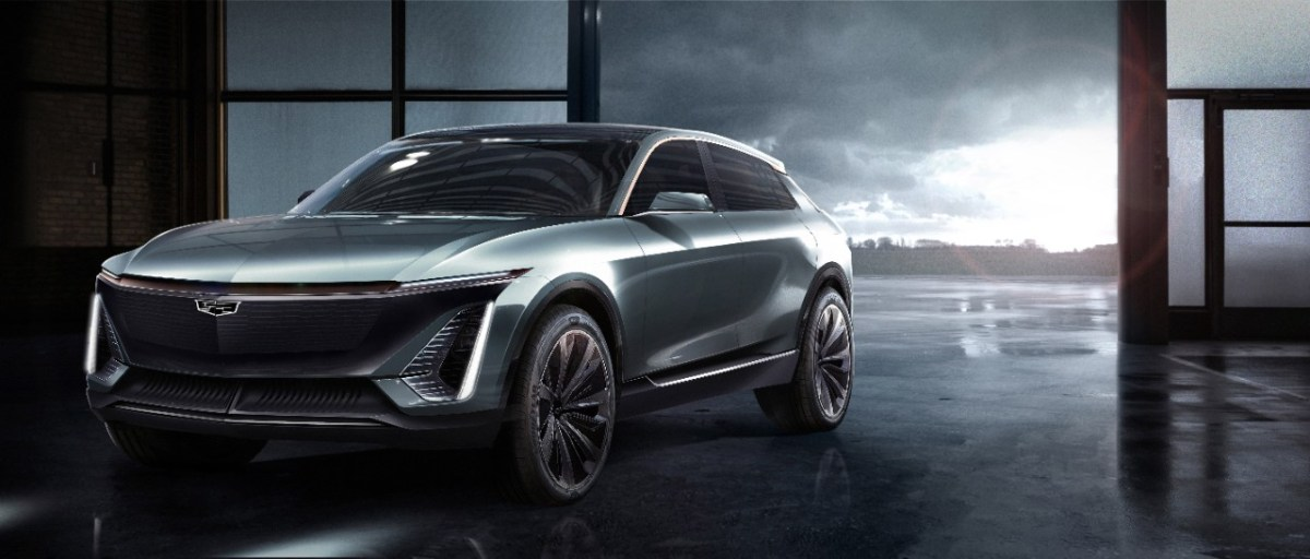 Cadillac first electric crossover