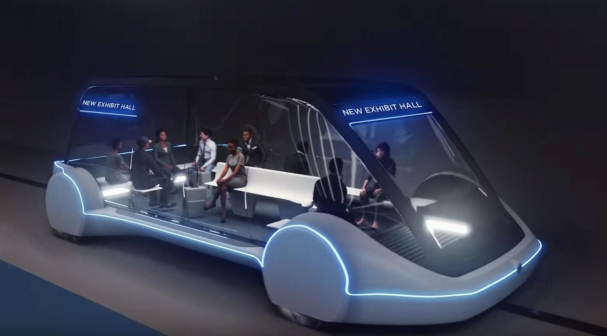 Elon Musk's Boring Company wants to move people beneath Vegas – TechCrunch 5