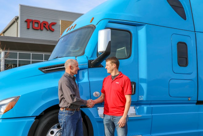 Daimler Trucks and Torc Robotics