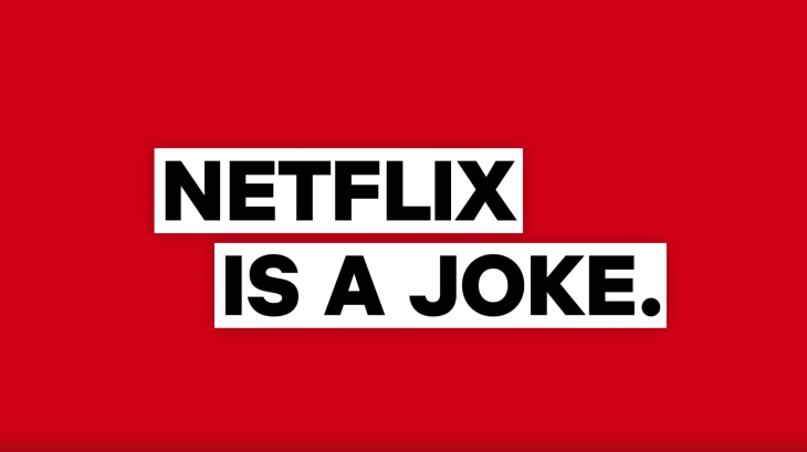 netflix is a joke sirius xm