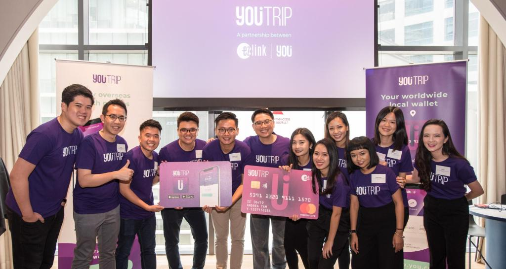 YouTrip Team at Launch Aug 18 - YouTrip, a challenger bank in Southeast Asia, raises $25M for expansion – TechCrunch
