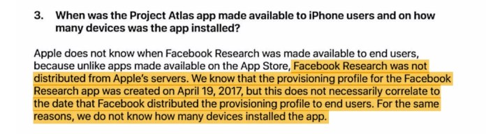 fb permissions 2 - Facebook collected device data on 187,000 users using banned snooping app
