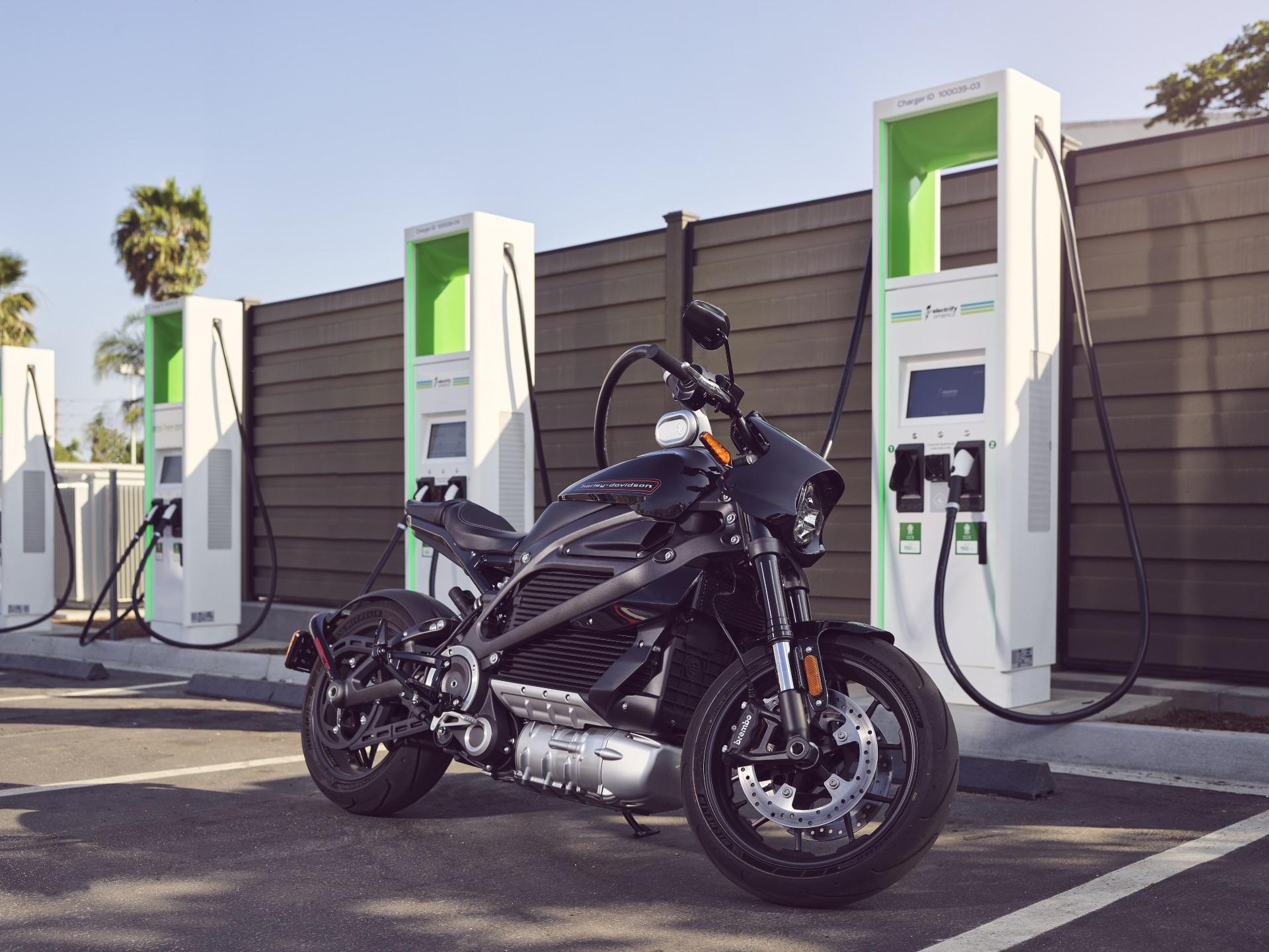 LiveWire Charging Harley Davidson