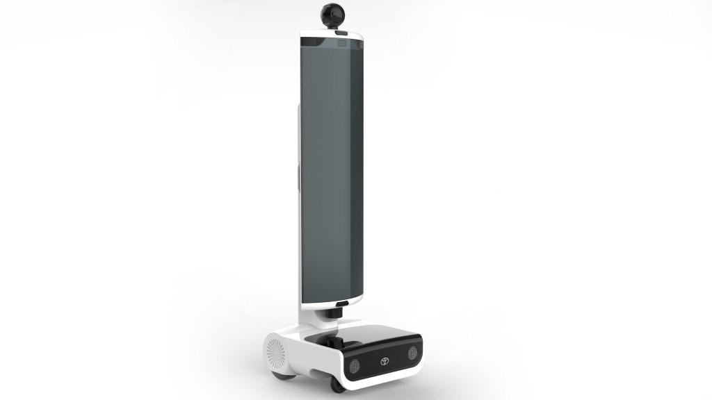 T TR1 Remote location communication Robot
