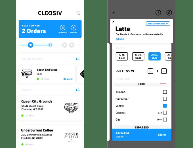 cloosiv ordering