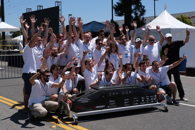 hyperloop pod competition epfl 1