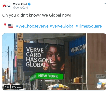 Verve Times Square Interswitch