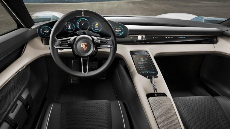 Porsche mission e concept car 2015 porsche ag