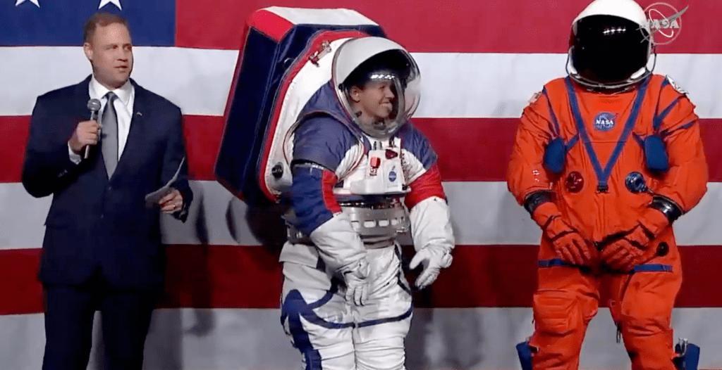 NASA Artemis spacesuits