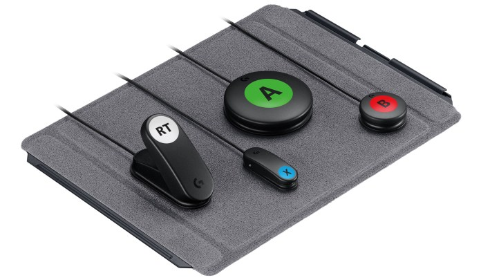 labeled - Logitech accessory kit makes the Xbox Adaptive Controller even more accessible