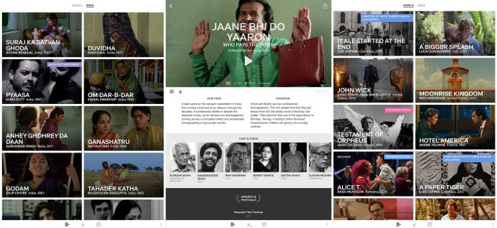 Mubi launches streaming service in India – TechCrunch