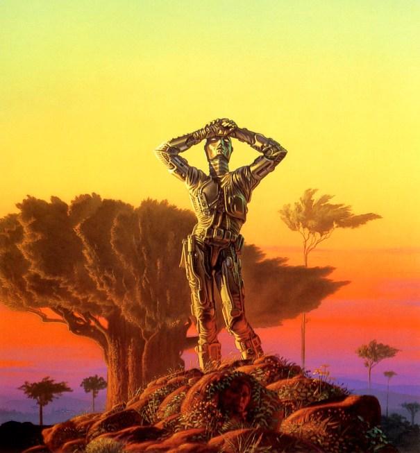 夜明けのロボット