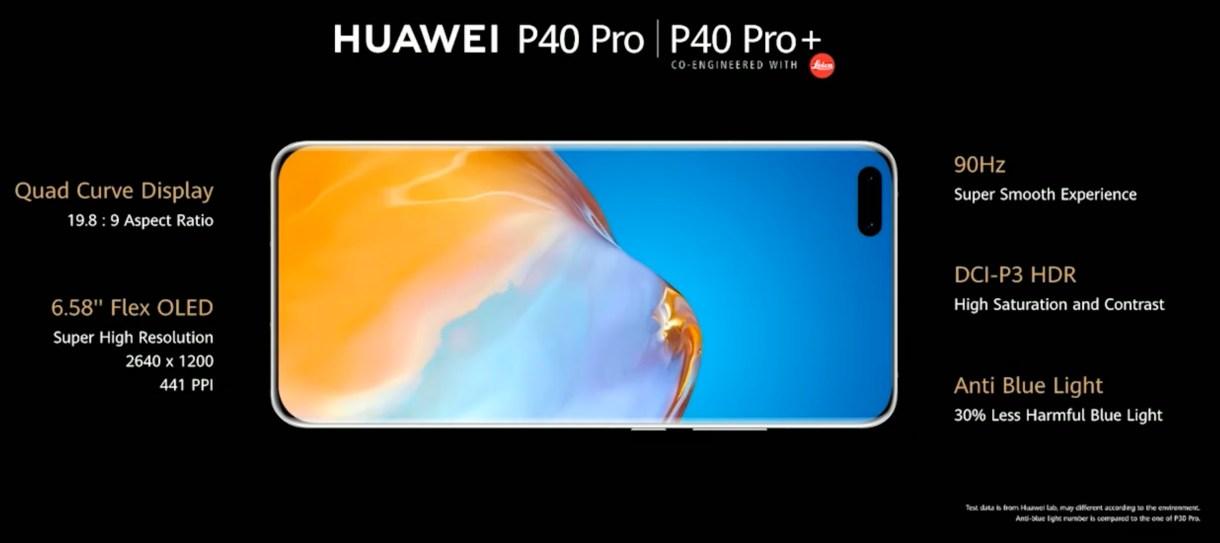 Huawei P40 4b - هواوي تعلن عن 3 طرازات من جوالها هواوي P40