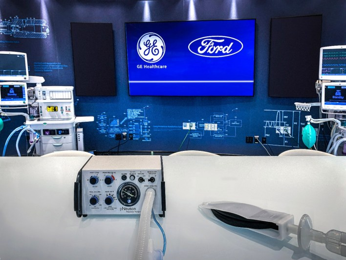 ford, ge healthcare to produce 50,000 ventilators by july using this tiny company's design   techcrunch