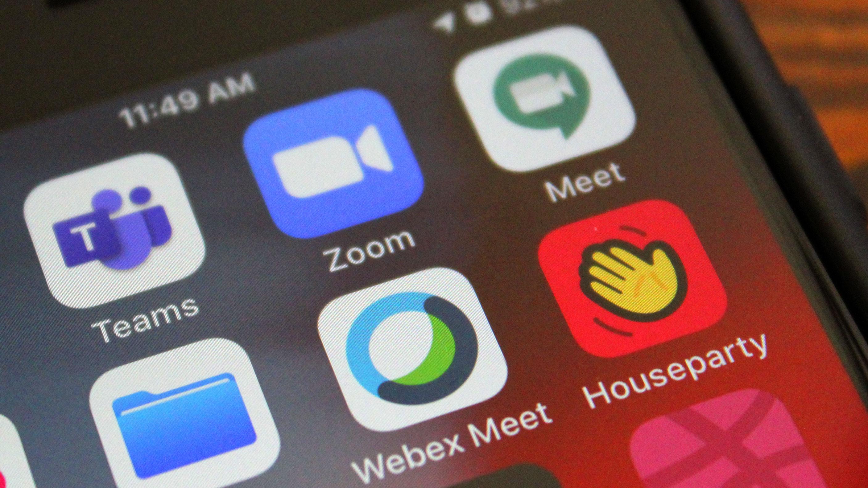 Les applications de vidéoconférence ont enregistré un record de 62 millions de téléchargements en une semaine en mars