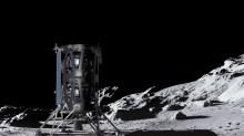 intuitive machines nova c lunar lander