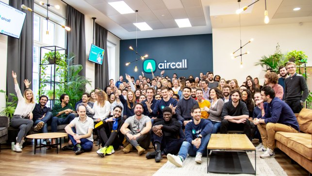 Aircall raises  million for its cloud-based phone system
