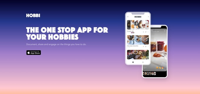 Facebook shuts down Hobbi, its experimental app for documenting personal projects hobbi website