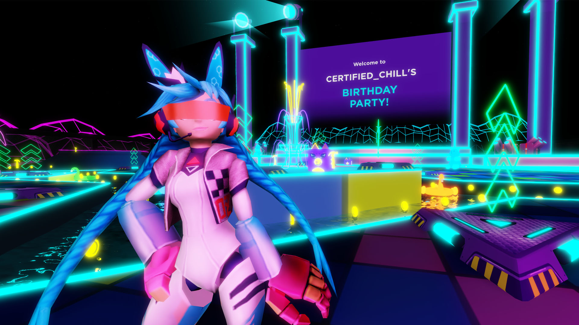 Roblox Launches Party Place A Private Venue For Virtual Birthday Parties And Other Meetups Techcrunch